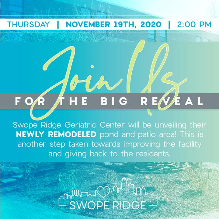 swope ridge remodel announcement