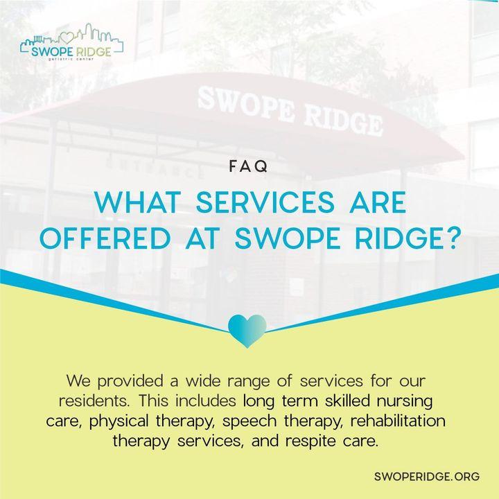 swope ridge services