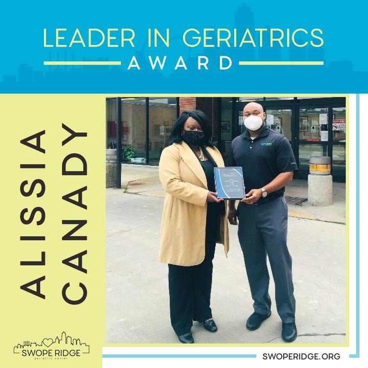 geriatrics award