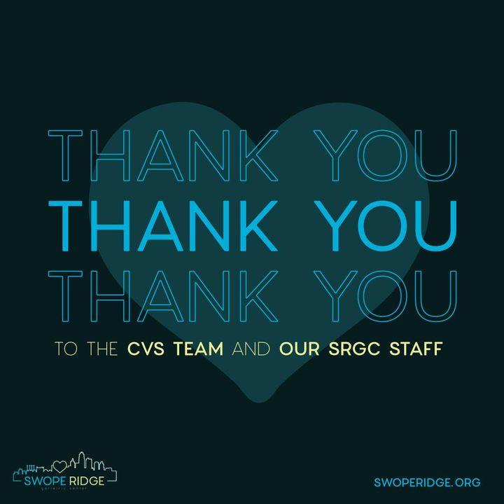 cvs partnership thank you graphic