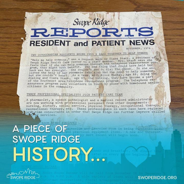 swope ridge history